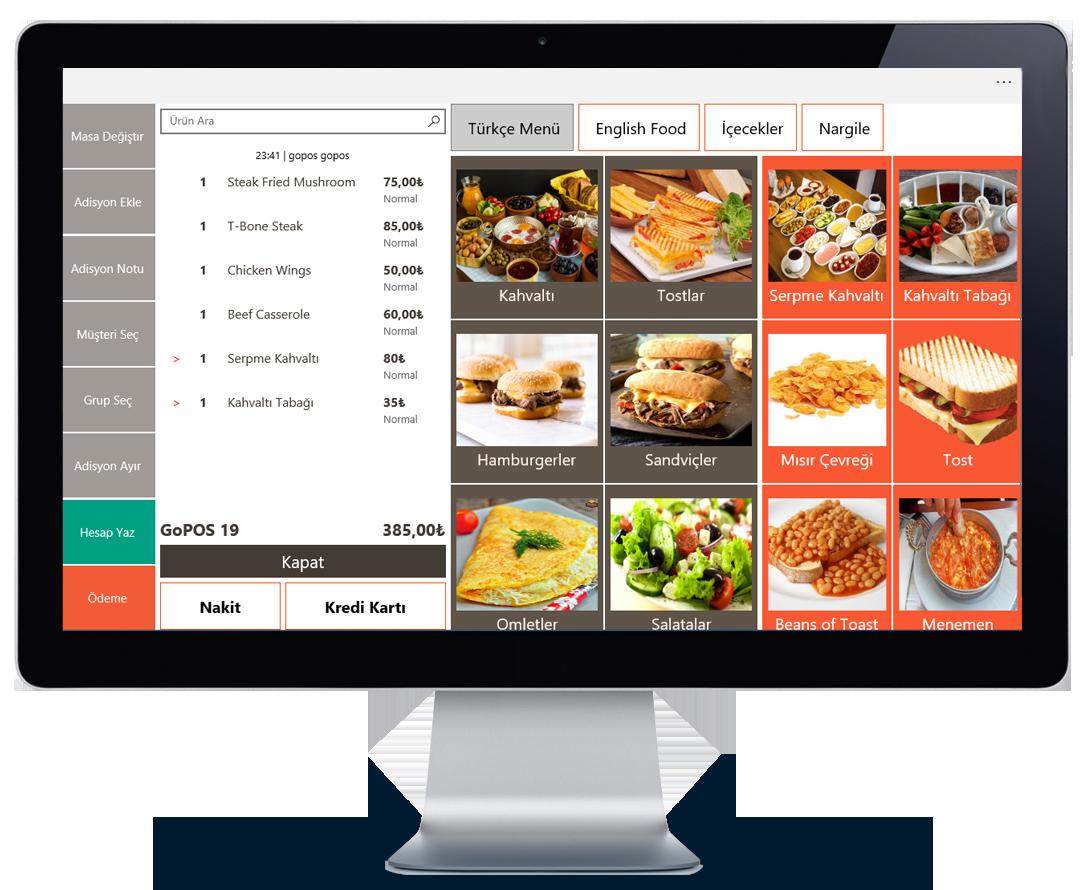 ücretsiz restoran programı