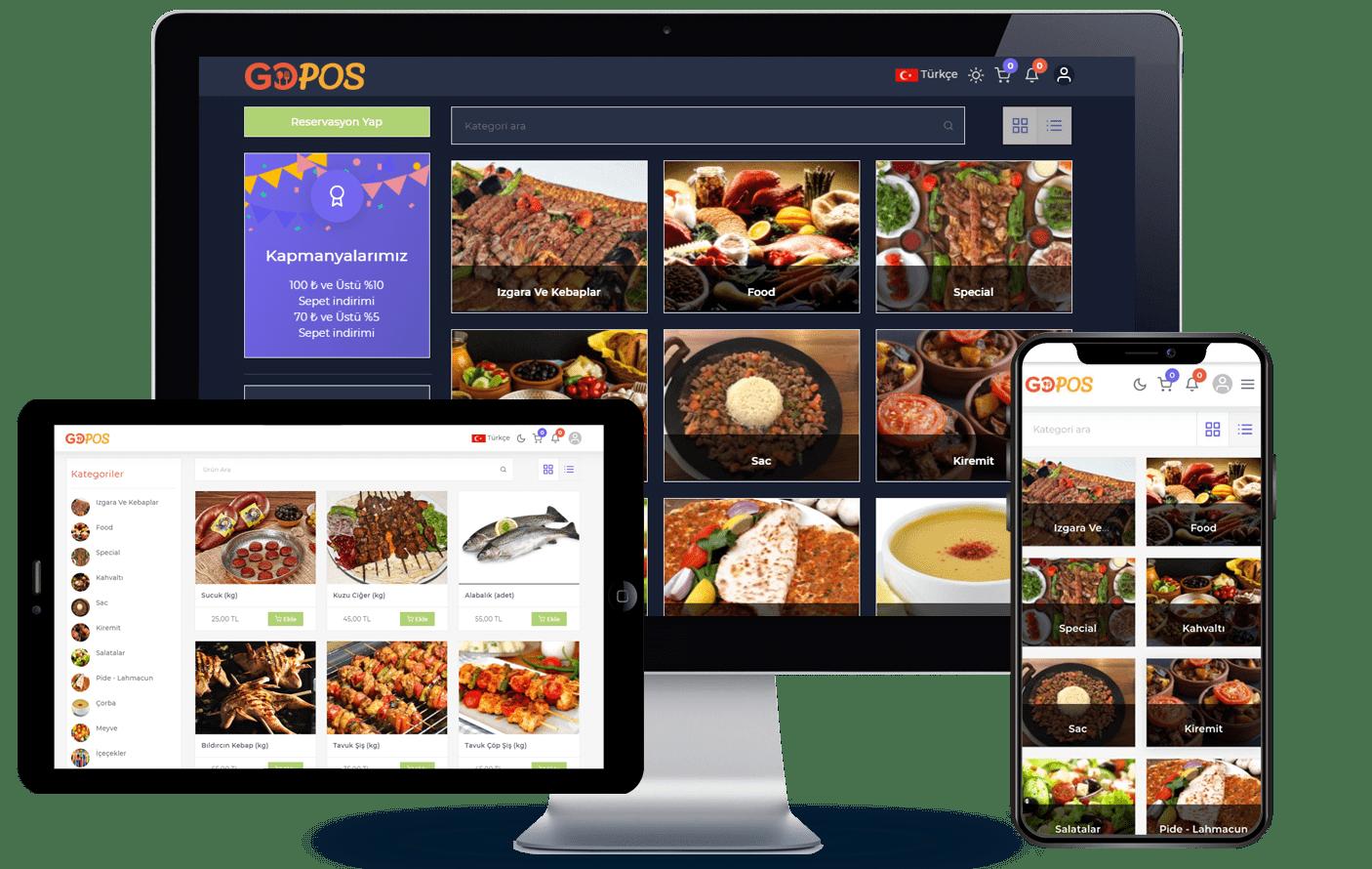 karekod menu, qr kodlu restoran menu